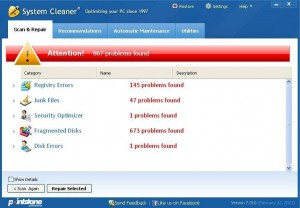 PointStone System Cleaner - Scan & Repair