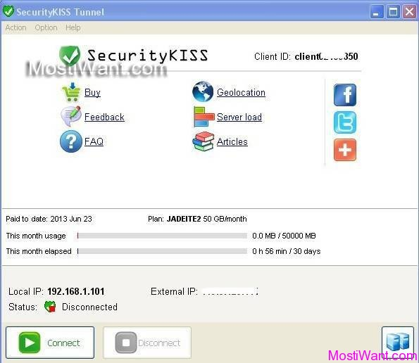 SecurityKISS Tunnel: Free 3 Months Premium VPN - Most i Want