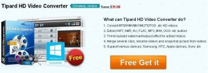 Tipard HD Video Converter Free Download