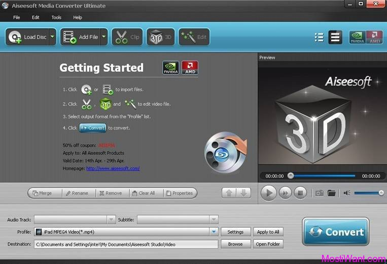 Aiseesoft Media Converter Ultimate