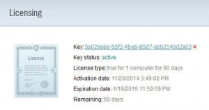 Kaspersky PURE 3.0 Total Security Trial License