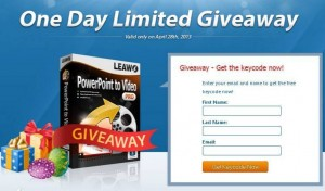 Leawo PowerPoint to Video Pro Giveaway