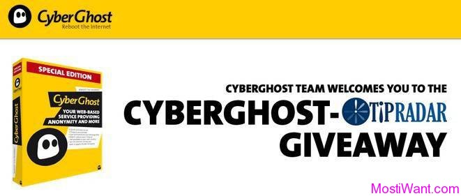 CyberGhost Special Edition Giveaway