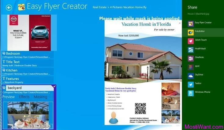Easy Flyer Creator for Windows 8