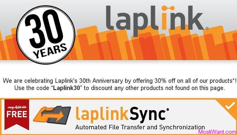 Laplink Software Celebrates 30th Anniversary
