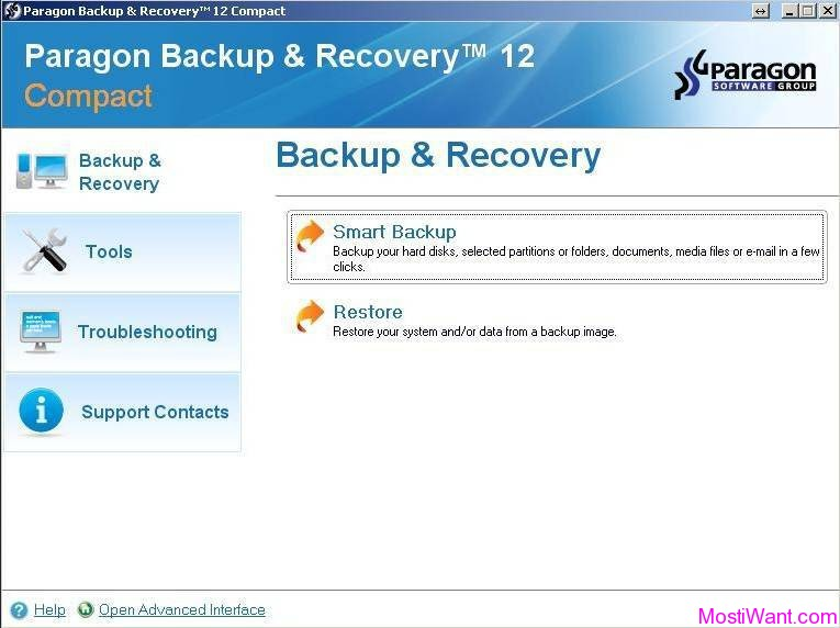 Paragon Backup & Recovery 12 Compact Edition