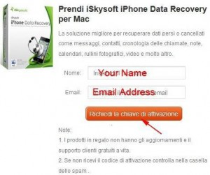 iSkysoft Data Recovery for Mac Giveaway