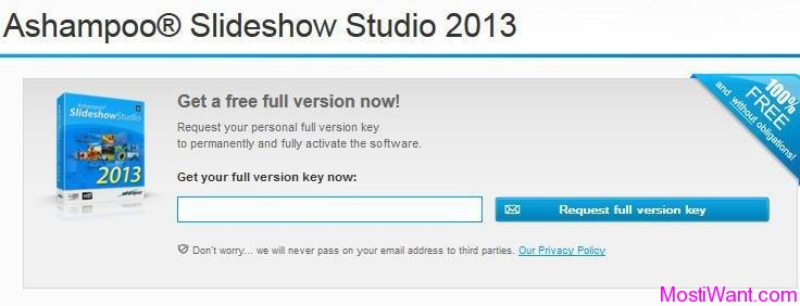 Ashampoo Slideshow Studio 2013 Request Full Version Key