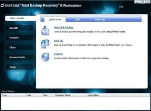 FarStone Total Backup Recovery Workstation 8