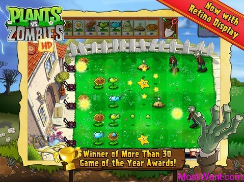 Plants vs. Zombies iOS Game