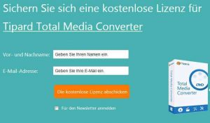Tipard Total Media Converter Free Giveaway