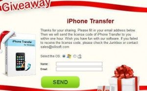 Xilisoft iPhone Transfer Free Giveaway