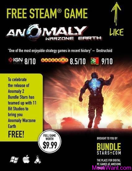 Anomaly: Warzone Earth Game for Free