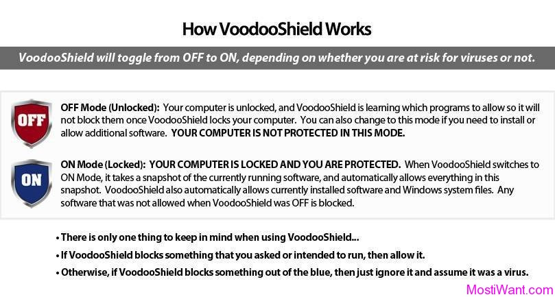 How VoodooShield Works