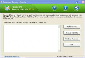 Password Recovery Bundle Professional 2014