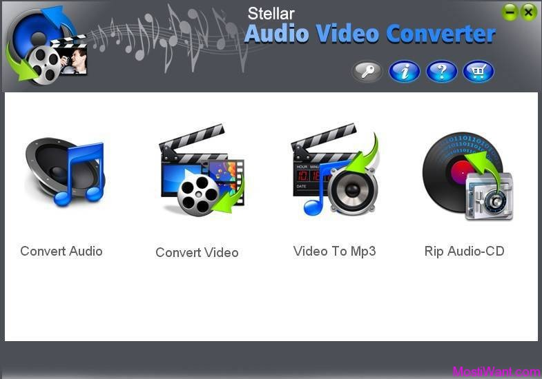 Stellar Audio Video Converter