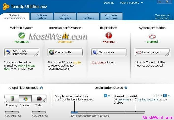 tuneup utilities 2012 kostenlos vollversion