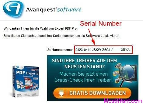 Avanquest PDF Experte 9 Professional Serial Number