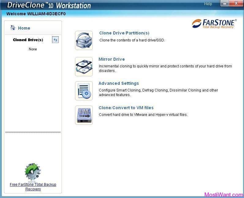 FarStone DriveClone 10 Workstation
