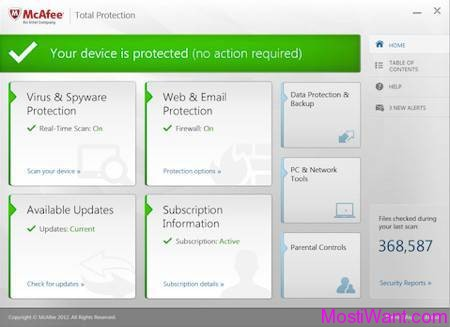 mcafee full download antivirus free version