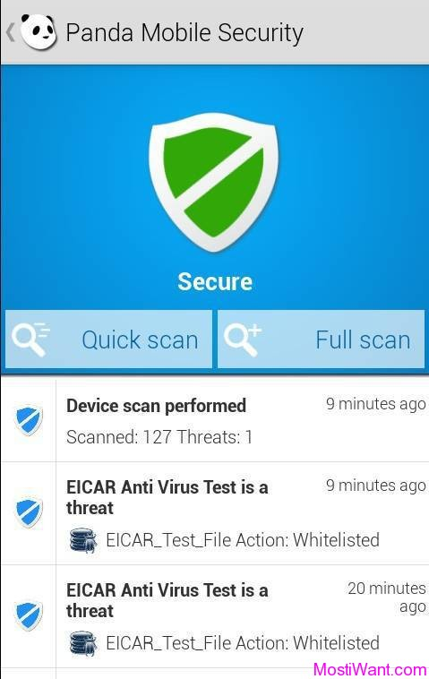 Panda Mobile Security & Antivirus for Android