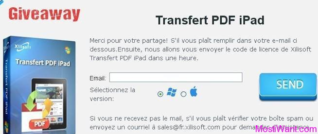 Xilisoft iPad PDF Transfer Giveaway