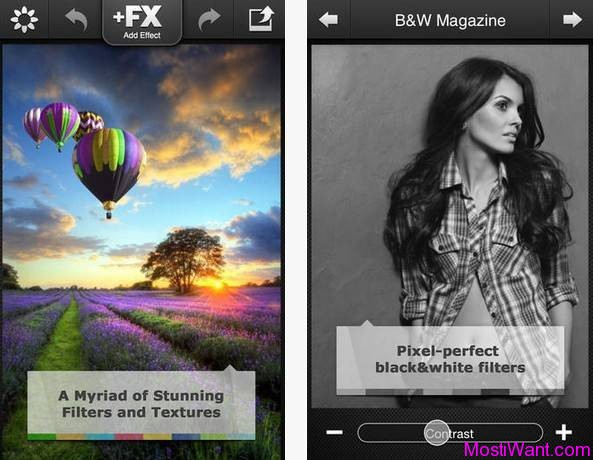 FX Photo Studio iOS App