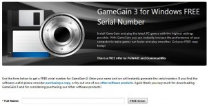 GameGain 3 Free Giveaway