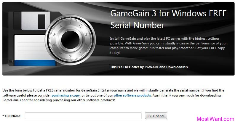 GameGain 3 Free Download Full Version Serial Number - Most i