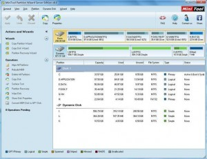 MiniTool Partition Wizard Professional Edition 8
