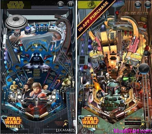 Star Wars Pinball iOS Game App