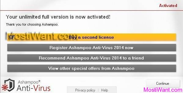 Ashampoo AntiVirus 2014 Free Full Version