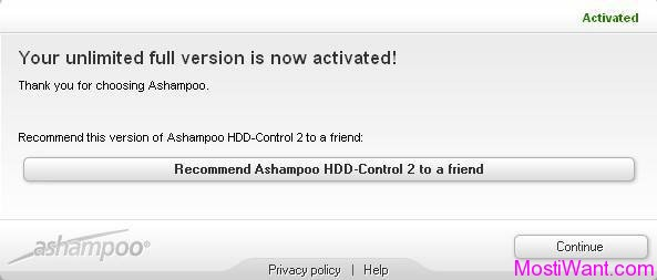 Ashampoo HDD Control 2 Free Full Version