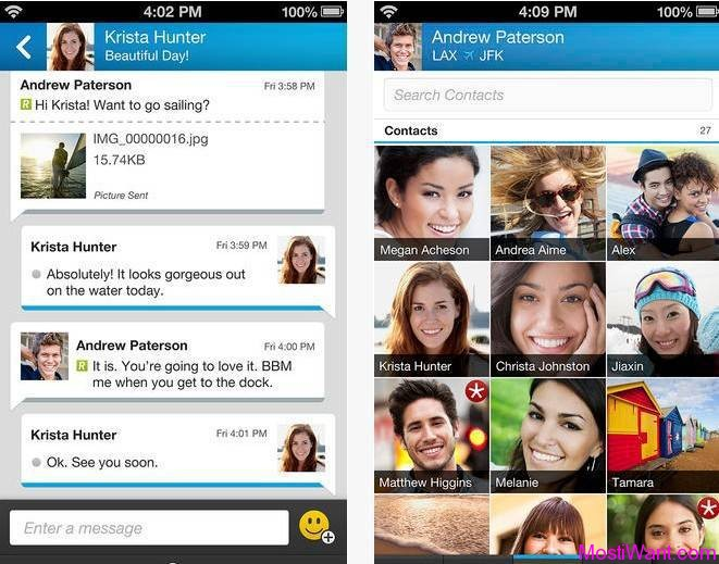 BlackBerry Messenger (BBM) for iPhone