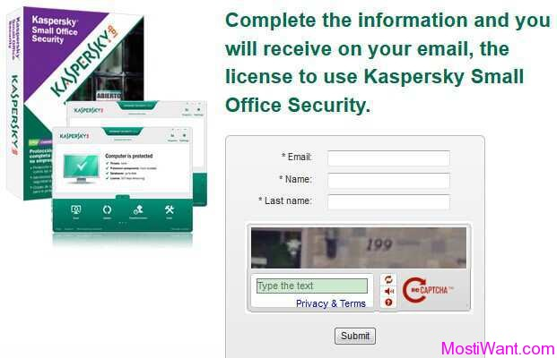 Kaspersky Small Office Security 3 Giveaway