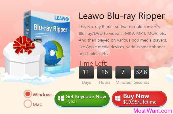 Leawo Blu-ray Ripper Christmas Giveaway