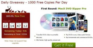 MacX DVD Ripper Pro for FREE