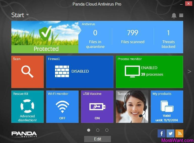 Panda Cloud Antivirus Pro Edition 3.0