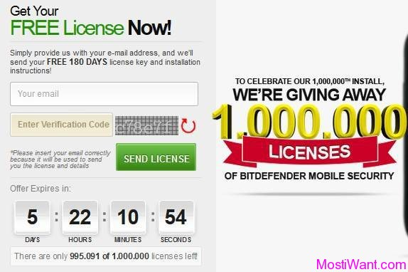 BitDefender Mobile Security Premium Free Giveaway