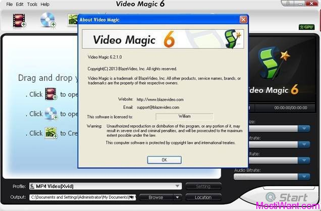Blaze Video Magic