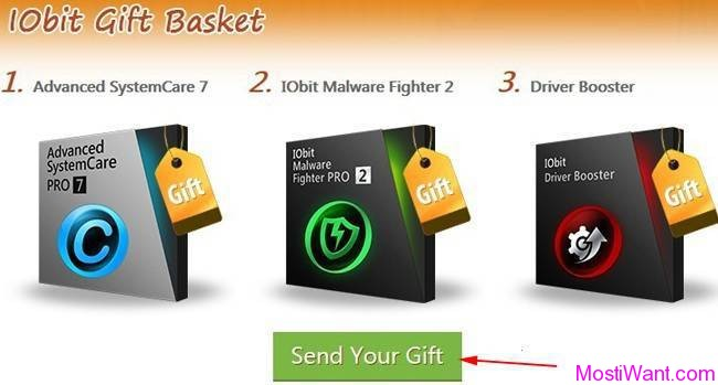 IObit Thanksgiving Giveaway Step 3