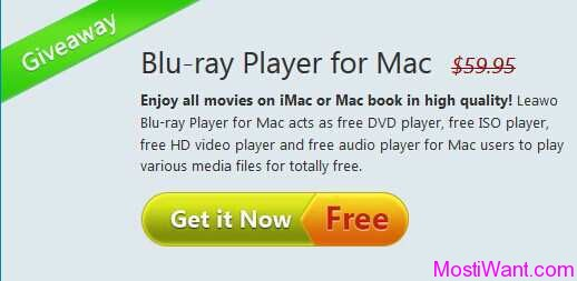 Leawo Blu-ray Player For Mac Giveaway