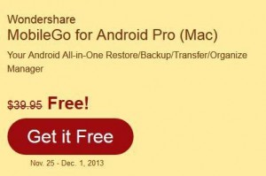 Wondershare MobileGo for Android Pro (Mac)