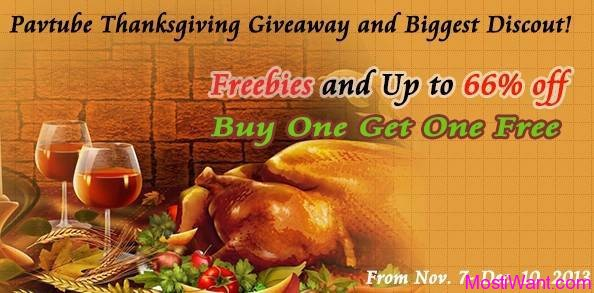 Pavtube 2013 Thanksgiving Giveaway