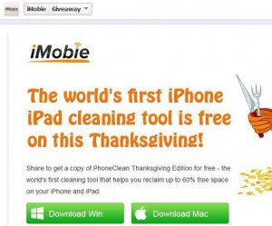 PhoneClean 3 Thanksgiving Edition for Free