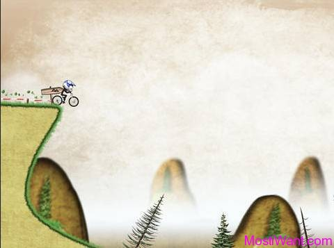 Stickman Downhill iOS Game