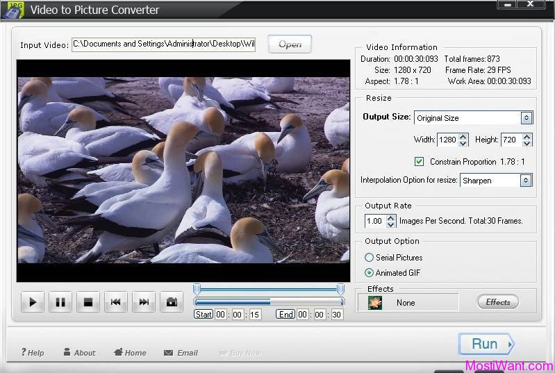 WonderFox Video to Picture Converter