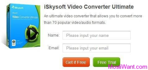 iSkysoft Video Converter Ultimate Giveaway