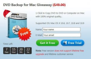 Aimersoft DVD Backup for Mac Free Giveaway
