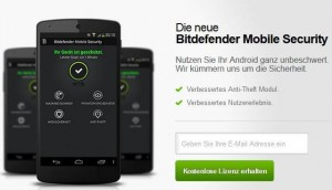 BitDefender Mobile Security & Antivirus For Android Free Giveaway